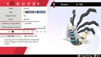 Square Shiny 6 IV Giratina for Pokémon Sword and Shield