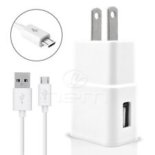 T-Mobile LG Stylus 2 Plus USB 3.1 amp Home Adapter+3 FT Micro Data Cable White