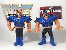 ROAD WARRIORS HAWK ANIMAL LOD WWF Hasbro CUSTOM Wrestling Figure WWE WCW Blue