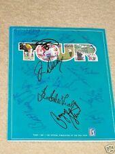 Payne Stewart signed 1991 NEC PGA Tour Golf Program JSA LETTER