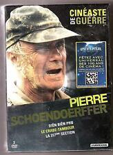 COFFRET  3  DVD   P. SCHOENDOËRFFER    DIEN-BIEN-PHU, CRABE TAMBOUR, 317°SECTION