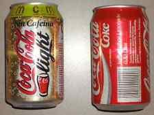 "2 LATAS COCA-COLA COKE AUSTRIA/PROMO""CADA 5 MINUTOS"""