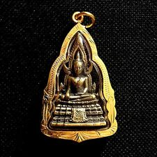 Phra Buddha Chinnarat Pendant Thai Amulet Sacred Protect Charm Lucky DBA