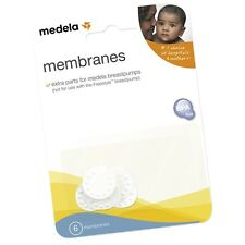 Medela - Replacement Membranes, Package Of Six (6), New. #87088