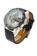orologio crono-look Jay Baxter cinturino vera pelle-garanzia-nuovo- A1304 C