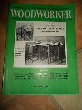 WOODWORKER November 1959 ~ Retro Vintage Illustrated Magazine + Advertising