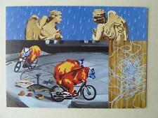 David Salle Angels In The Rain (1998) The Saatchi Gallery 2003 Postcard