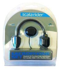 Cardo Hybrid & CON FILO MICROFONO pezzi di ricambio Set per Scala Rider G9x Audio Kit