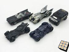 Hot Wheels Diecast Toy Car x5 Batman Batmobile