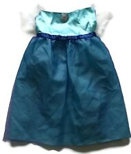 Disney Frozen Elsa Costume Dress Girls Sizes 4 6 Aqua Blue Dress Up