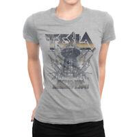 Nikola Tesla Vintage T-Shirt, Premium Cotton Tee, Men's Women's Sizes