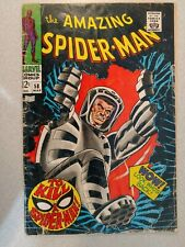 AMAZING SPIDER-MAN 58 LOWER GRADE 1968 SILVER AGE COMIC