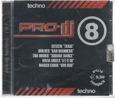PRO DJ TECHNO vol. 8 CD F.C. SIGILLATO!!!