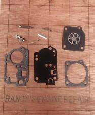 Zama RB-141 Carburetor carb overhaul rebuild repair kit C1U-H62 US Seller