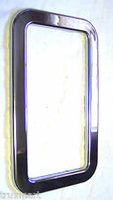 View window trim chrome plastic exterior door trim cover for Kenworth