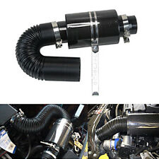 3'' Carbon fiber Air filter Cool Induction Ram Cold Air Intake with Intake Hose