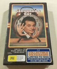 Groundhog Day (1993) - Limited Edition VHS Case Blu-Ray | New | Rare
