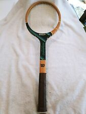 Wilson Chris Evert Champion Vintage Wood Racket made for intermediate player