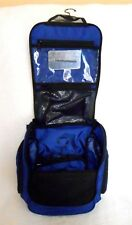 L.L.BEAN BLUE HANGING TOILETRY PERSONAL ORGANIZER TRAVEL/ GYM BAG, SO NICE!