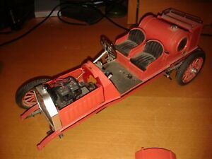 Bandai 1/16th scale Itala vintage sports car kit for parts