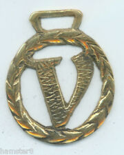 """V"" Alphabet Horse brass (680) (I always combine shipping)"