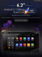 AUTORADIO GPS ANDROID 5.1 NISSAN QASHQAI JUKE MICRA USB SD WIFI XTRONS TD618AS