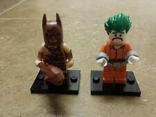 LEGO Batman Movie Minifigure Series Caveman Batman and Arkham Asylum Joker 71017