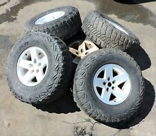 1997-2006 Jeep Wrangler TJ / LJ Wheel & Goodyear Tire Set of 5