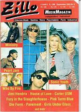 Zillo 9 - 1992 - Sonic Youth, Pearl Jam, Hendrix, Die Form