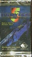@@BRADE Babylon 5 Collectible Card Game [CCG]: 6 boosters Deluxe Edition VO@@