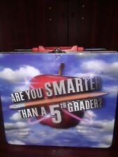 Are You Smarter Than a 5th Grader Lunch Box Tin
