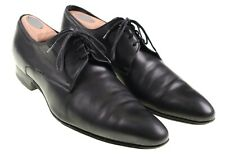 Dior Homme Mens Black Leather Pointy Toe Oxford Dress Shoes 10