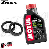 MF2430 - KIT PARAOLI FORCELLA + 1LT OLIO FORK OIL MOTUL 15W TMAX 500 2004 - 2007