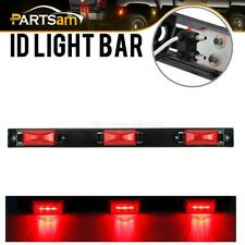 """17"""" Red Bright Led ID Bar / 3 Led Marker Light Truck Trailer Bus Clearance Light"""