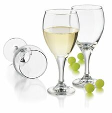 Libbey 4-Piece Catawba White Wine Glass Set, 12-Ounce, Clear NIB FREE SHIPPING