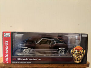 (NIB) AW Die-cast 1:18 American Muscle 1970 Olds Cutlass SX Limited Edition