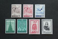 ICELAND - SCARCE EARLY 3 DIFF SETS INCL. SEMI-POSTAL SETS MNH LOT RR