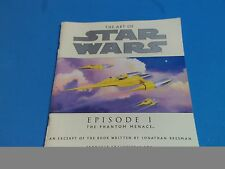 The art of Star Wars Episode I The Phantom Menace Excert VGC