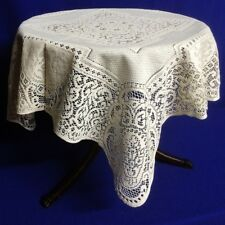 Heritage Lace Ecru/Ivory Canterbury Table Topper Factory Blemish
