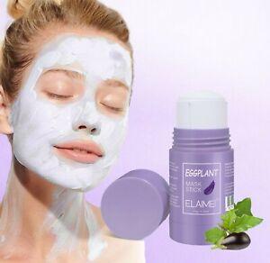 Eggplant Purifying Clay Stick Mask Oil Control Anti-Acne Eggplant Deep clean