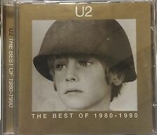 U2 THE BEST 1980-1990 CD ALBUM RARE