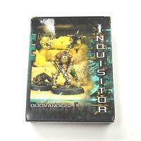 INQUISITOR Quovandius In box complete 54mm METAL WARHAMMER GAMES WORKSHOP FG1
