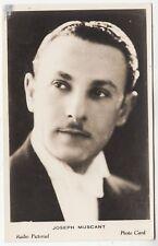JOSEPH MUSCANT Musician - Radio Pictorial Photo Card - 1930s era era photograph
