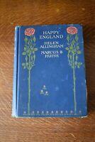 Happy England Vintage Book Helen Allingham / Marcus B Huish - 1903 - A & C Black