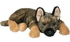 "Douglas Mya GERMAN SHEPHERD DOG 20"" Lying Floppy Plush Stuffed Animal NEW"