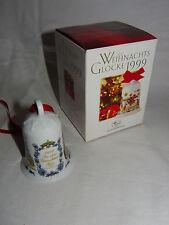 Hutschenreuther Weihnachtsglocke 1999 + Originalkarton - Ole Winter