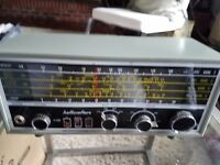 Vtg The Hallicrafters Co Model S-120 A 4 Band Short Wave SW Ham Radio Reciever