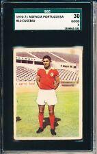 1970-71 Eusebio Agencia Portuguesa SGC 30 = PSA 2 Solid card! Rarely seen!