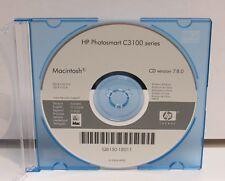 HP Photosmart C3100 Series Drivers CD Version 7.8.0 for Macintosh Q8150-18011