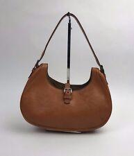 PRADA Vintage Chestnut Brown Tobacco Leather Shoulder Bag Purse